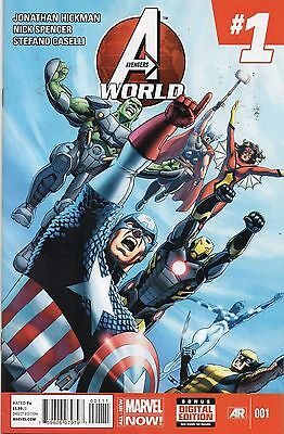 Marvel Comics Avengers World #1 March 2014 1St Print All New Now Nm