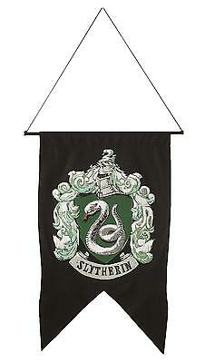 "Harry Potter Slytherin Wall Banner Flag 20"" X 30"" Party Prop Decorations Ru3998"