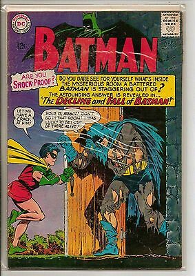 DC Comics Batman #175 November 1965 F+