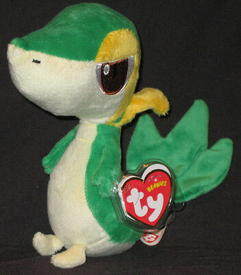 TY SNIVY the POKEMON BEANIE BABY - MINT with MINT TAGS - UK EXCLUSIVE 6 INCH 728cea45c531