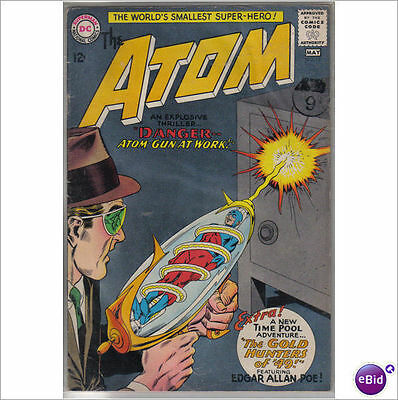 DC Comics Atom #12 May 1964 F+