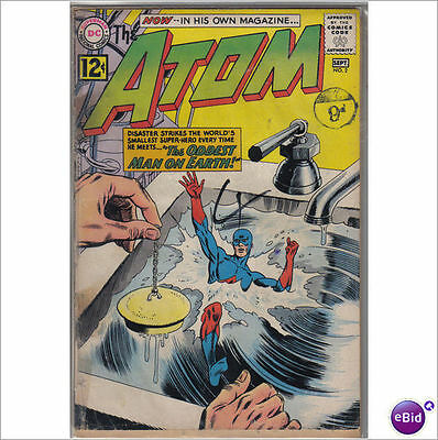 DC Comics Atom #2 September 1962 VG