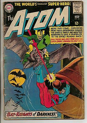 DC Comics Atom #22 January 1966 G