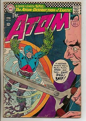 DC Comics Atom #24 May 1966 G