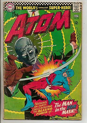 DC Comics Atom #25 July 1966 G