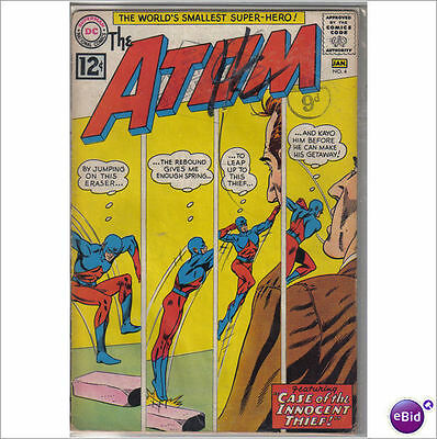 DC Comics Atom #4 January 1963 VG