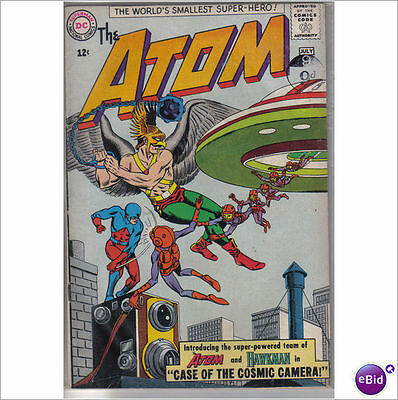 DC Comics Atom #7 July 1963 1st Hawkman Atom Team Up VF