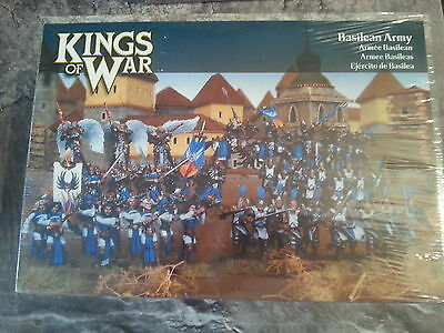 Kings Of War Basilean Army - 48 Miniatures - New & Sealed