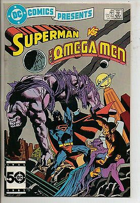 DC Comics Presents #89 January 1986 Superman & The Omega Men VF+