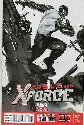 Marvel Comics Cable & X-Force #3 March 2013 1:50 Delotto Variant Marvel Now Nm