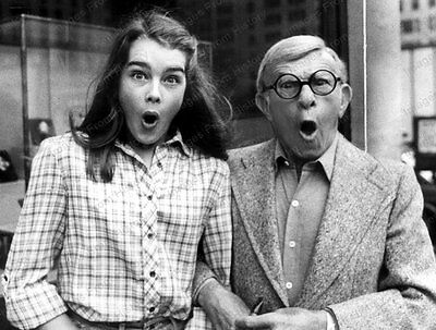 8x10 Print Brooke Shields George Burns #BRO