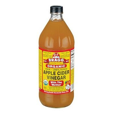 Bragg Apple Cider Vinegar Organic 946mL with The Mother, Raw & Unfiltered