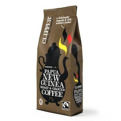 Clipper Coffee Papua New Guinea Rst & Ground FT Organic 227g