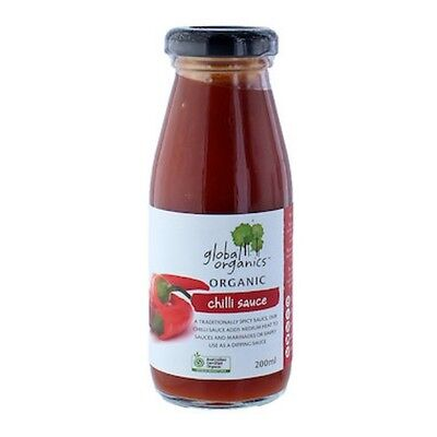 Global Organics Sauce Chilli Organic 200mL