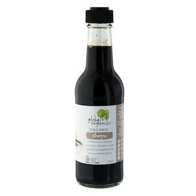 Global Organics Shoyu Organic 250mL