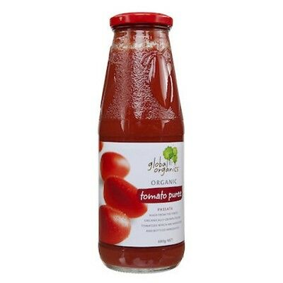 Global Organics Tomato Passata (Puree) Organic (Glass) 680g