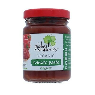 Global Organics Tomato Paste Organic (Glass) 100g