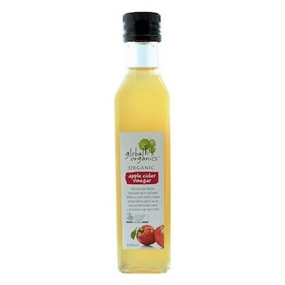 Global Organics Vinegar Apple Cider Organic 250mL