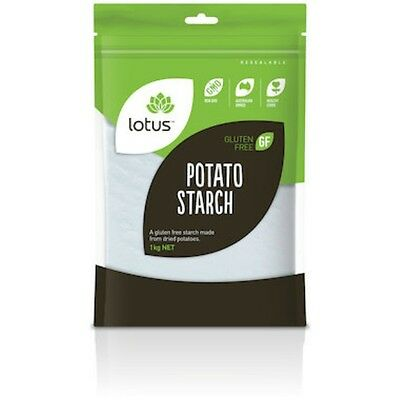 Lotus Potato Starch 1kg - SHIPS TODAY! #H111