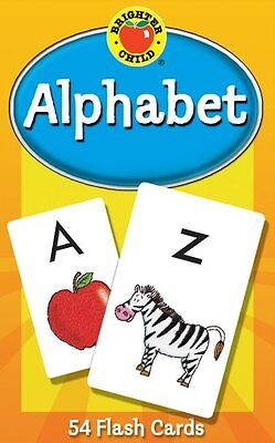 New! Childrens Flash Cards Alphabet Learning by Brighter Child Preschool Fun