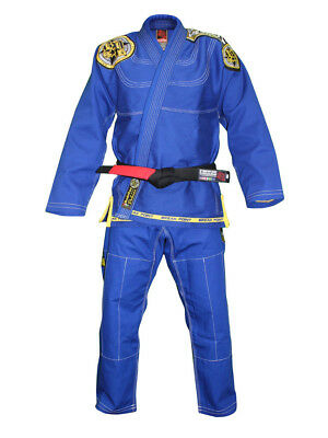 Break Point BTS Built To Submit Deluxe Jiu-Jitsu Gi (Blue)