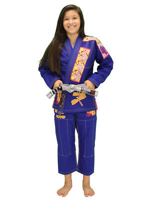 Break Point Women's Dragonfly Jiu-Jitsu Gi (Blue)