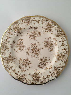 "ROYAL ALBERT Collectible Teas PARCHMENT  8"" PLATE NEW IN BOX FREE SHIP"