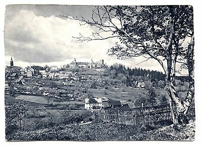 Frauenstein im Erzgebirge Postcard Thin Germany Ore Mountains