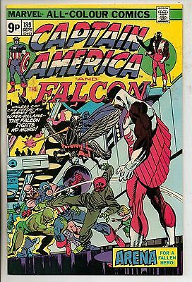 Marvel Comics Captain America #189 September 1975 VF+