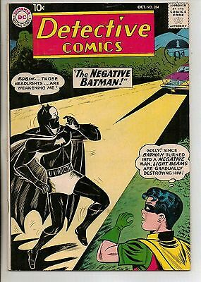 DC Comics Batman In Detective #284 October 1960 VF
