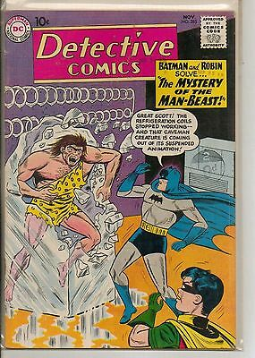 DC Comics Batman In Detective #285 November 1960 VF