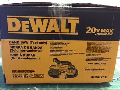 NEW Dewalt DCS371 20V Max Cordless Battery Band Saw Blade 20 Volt DCS371B
