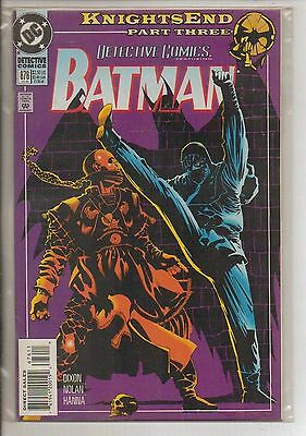DC Comics Batman In Detective #676 July 1994 Knights End NM