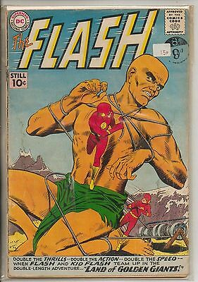 DC Comics Flash #120 May 1961 1st Flash & Kid Flash Team Up G