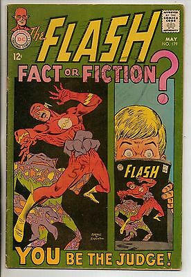 DC Comics Flash #179 May 1968 1st Earth Prime VG