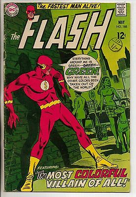 DC Comics Flash #188 May 1969 Mirror Master VG+