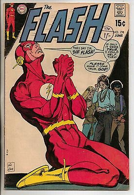 DC Comics Flash #198 June 1970 Zatanna VF