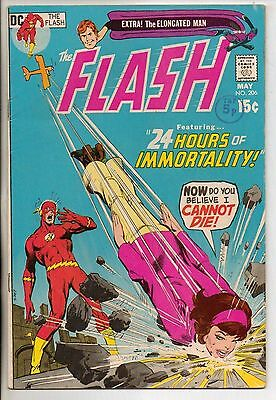 DC Comics Flash #206 May 1971 Elongated Man Backup VF