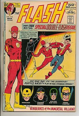 DC Comics Flash #213 March 1972 Justice Society Of America Giant Size VF