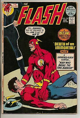 DC Comics Flash #215 May 1972 Golden Age Flash Giant Size F