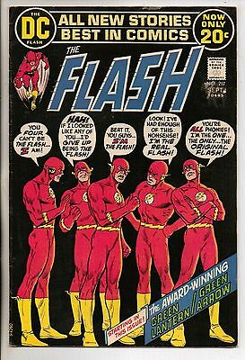 DC Comics Flash #217 September 1972 Neal Adams Green Lantern Green Arrow VF
