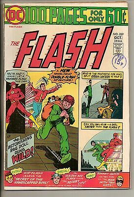 DC Comics Flash #229 October 1974 100 Page Super Spectacular VF