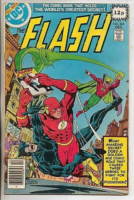 DC Comics Flash #268 December 1978 Golden Age Green Lantern And Wildcat VF