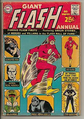 DC Comics Flash Annual #1 1963 G+