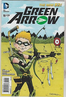 Dc Comics Green Arrow #19 June 2013 New 52 Mad Variant 1St Print Nm