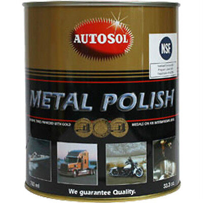 Autosol Edel Chromglanz, Metal Polish 750ml Chrompolitur Metallpolitur #AS01100