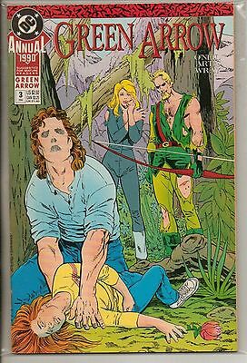 DC Comics Green Arrow Annual #3 1990 The Question VF+