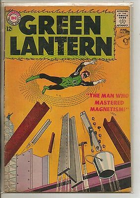 DC Comics Green Lantern #21 June 1963 1st Dr Polaris VG