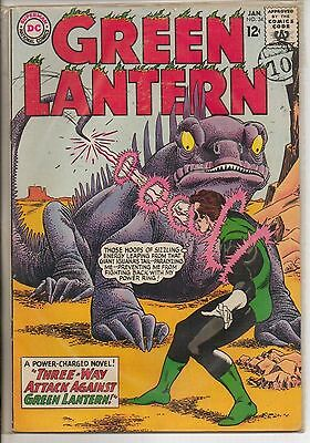 DC Comics Green Lantern #34 January 1965 Hector Hammond VF