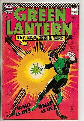 DC Comics Green Lantern #49 December 1966 F